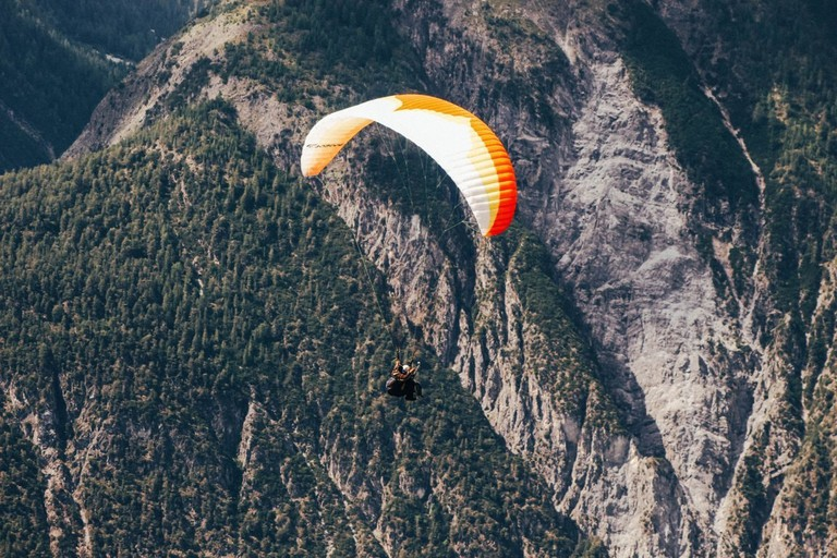 paragliding small