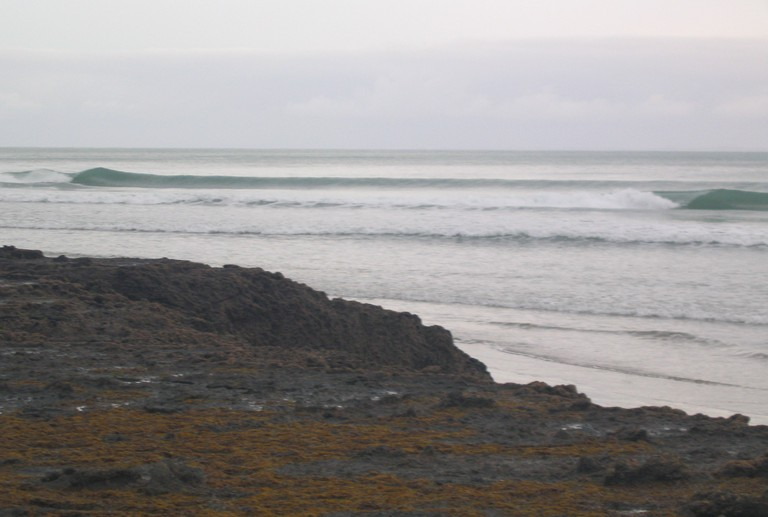 The break at Shipwreck Bay