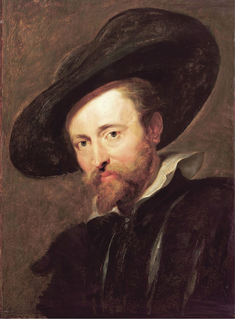 Peter Paul Rubens self-portrait