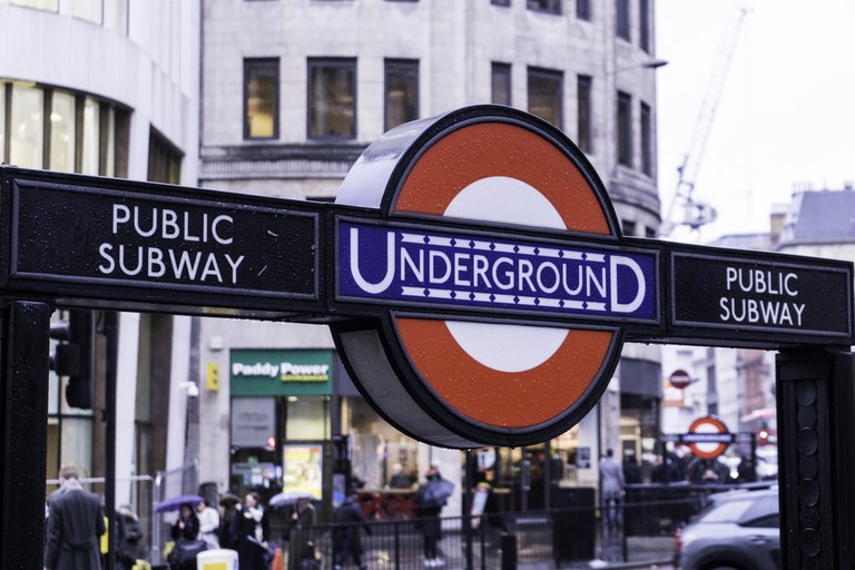 A version of the typeface invented by Johnston is still in use on the Underground today