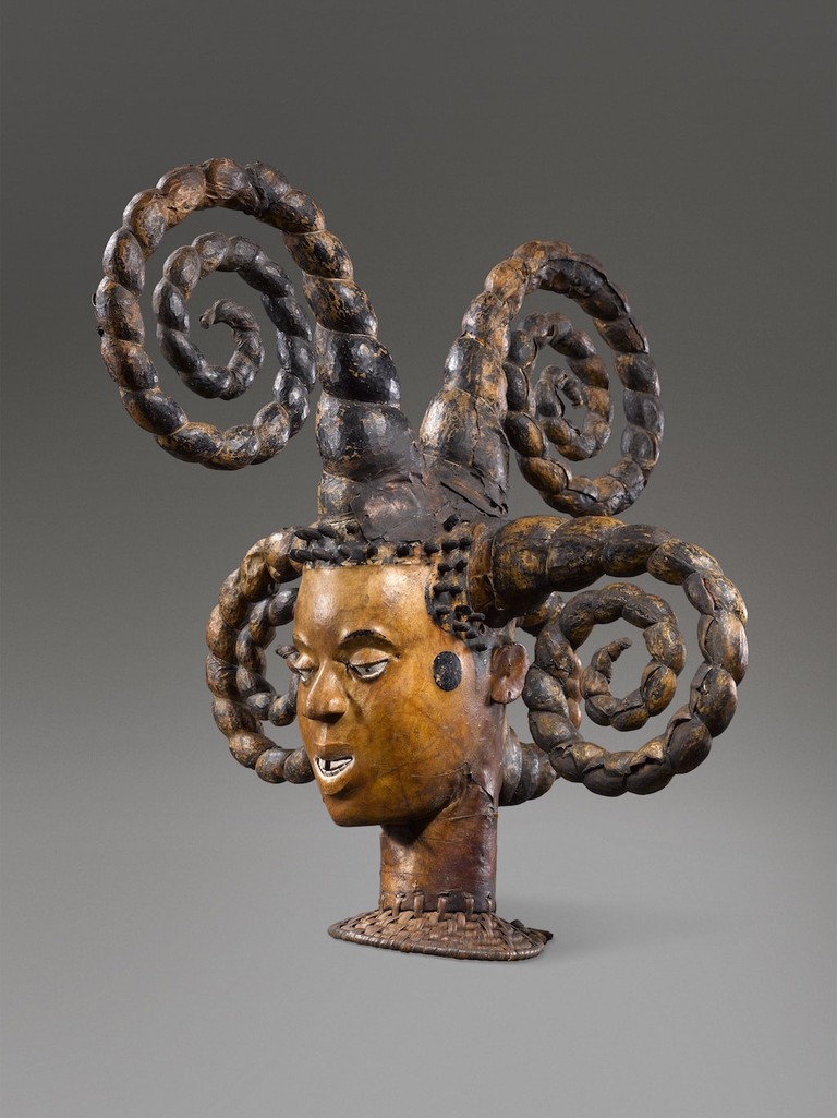 Ejagham artist, Nigeria or Cameroon, female dance headdress, 20th century