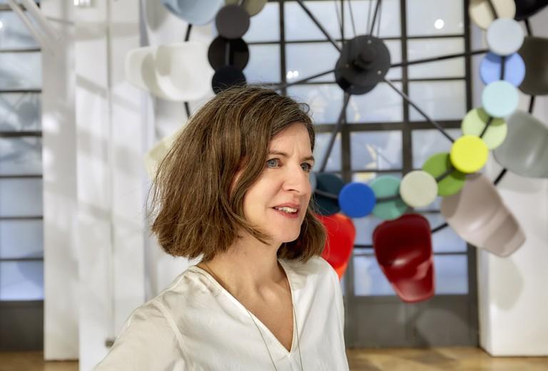 Vitra's art director for colour and materials, Hella Jongerius