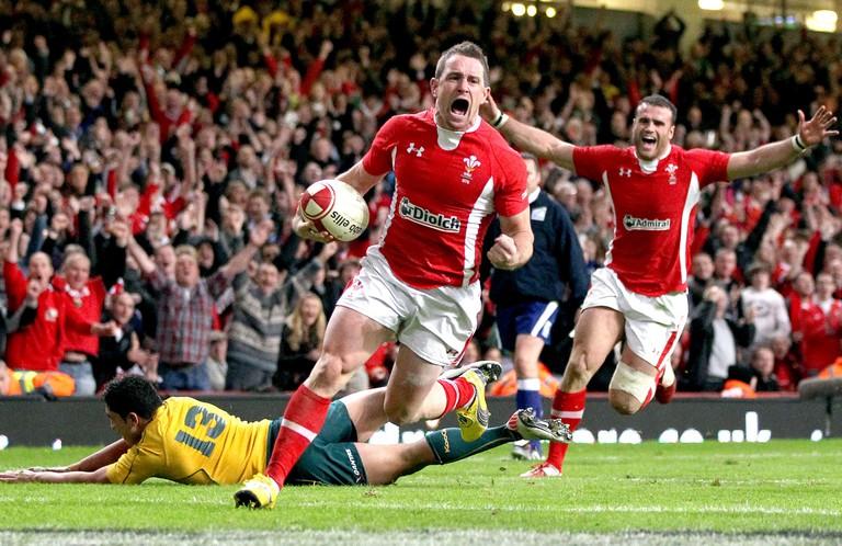 Wales v Australia Rugby Match, Millennium Stadium, Cardiff