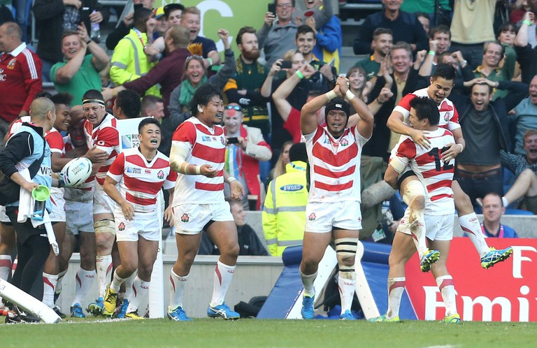 Rugby World Cup 2015 South Africa against Japan