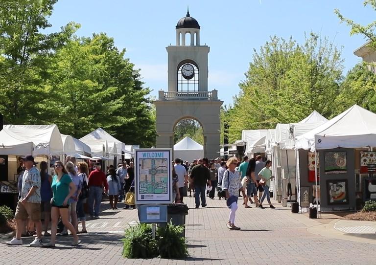 Ridgeland Fine Arts Festival Clocktower