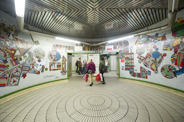 Paolozzi mosaics at Tottenham Court Road station