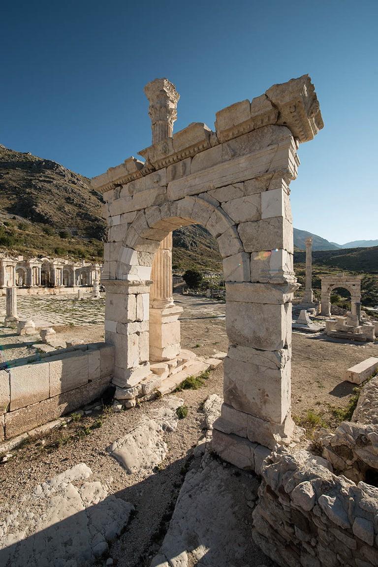The restored gate in Sagalassos