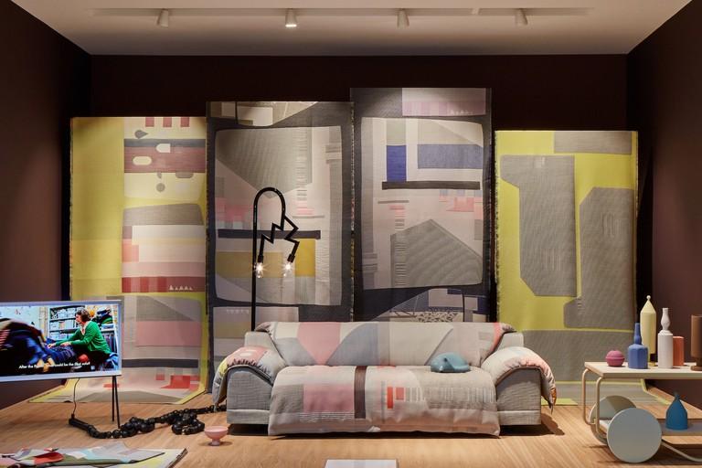 The Vlinder sofa, showcased at Salone del Mobile 2018
