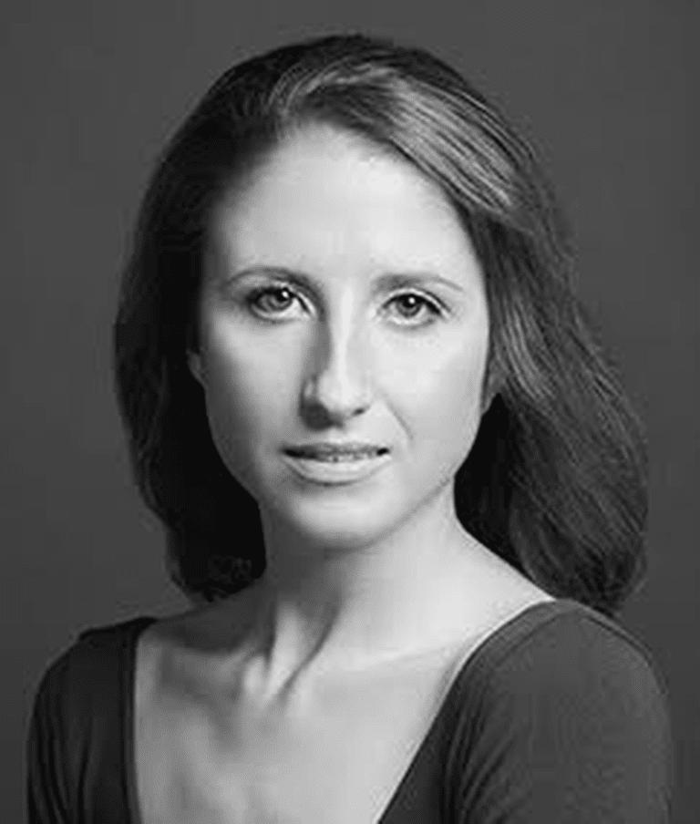 Headshot of prima ballerina Sara Adams