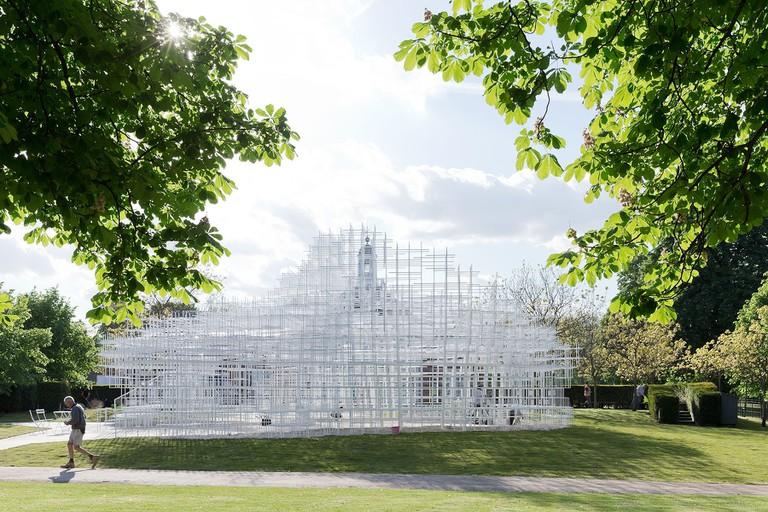 Serpentine Gallery_Pavilion by Sou Fujimoto_credit_IWAN BAAN