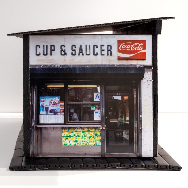 Model luncheonette for 'Mom-and-Pops of the LES'