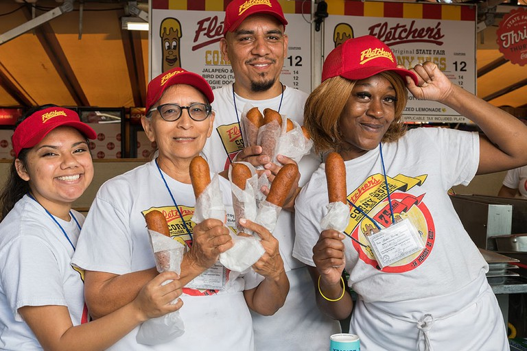 Fletcher's Corny Dogs is a fan favorite at the State Fair of Texas