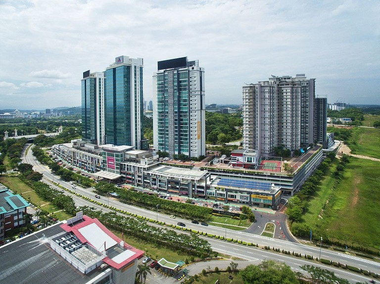 Cyberjaya's popular residential and mall complex is the Shaftbury Square