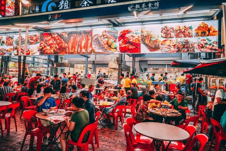 The Alor Street Food Night Market, Kuala Lumpur