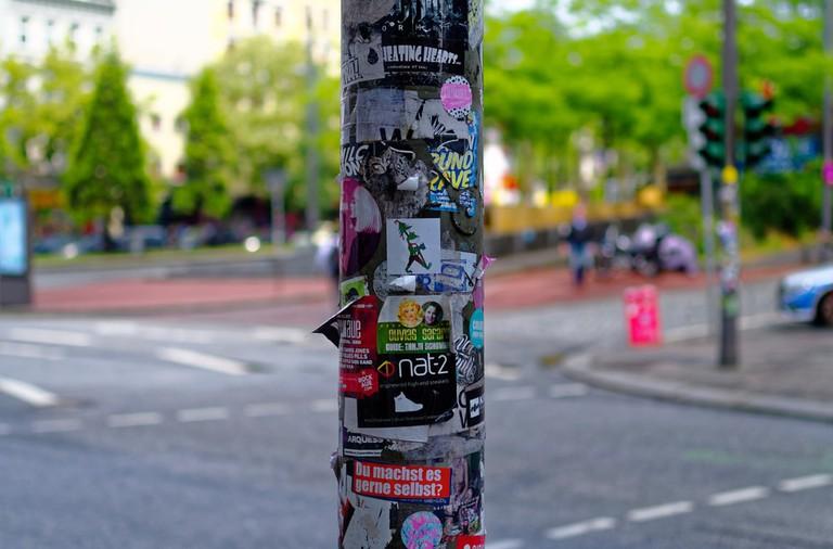 Street view, Reeperbahn, Hamburg