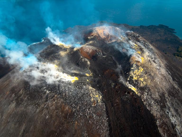 Krakatoa Crater
