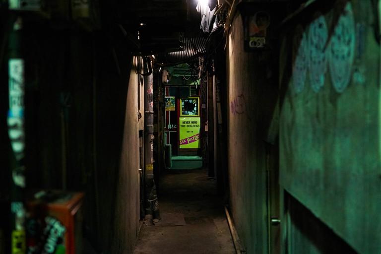 Back Alley in Shinjuku leading to Golden Gai