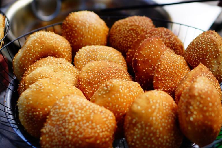 Banh Ran, Vietnamese rice doughnut