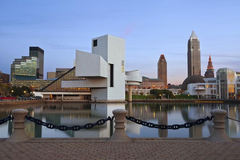 Cleveland harbour district