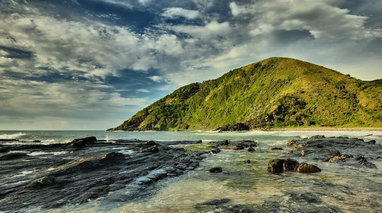 Silaka Nature Reserve coastline