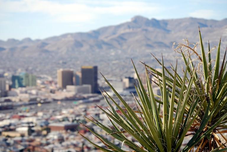 Skyline of downtown El Paso, Texas