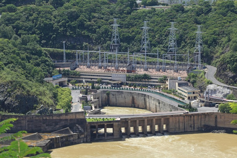 Hoa Binh Hydroelectricity Plant, Vietnam