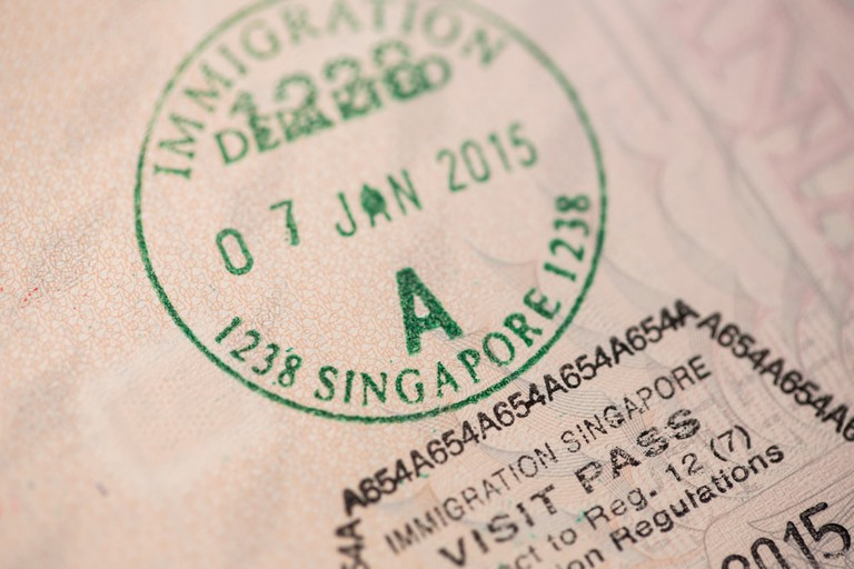 Singapore entry visa on an European passport