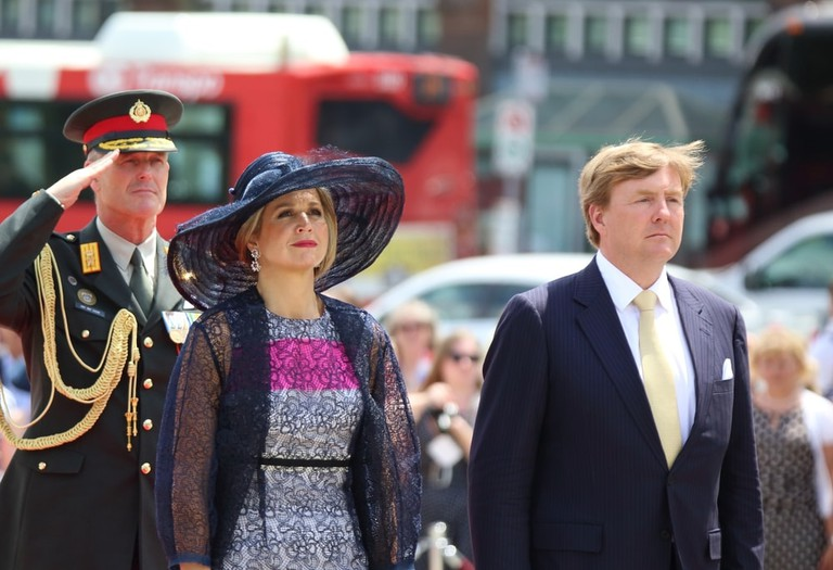 King Willem-Alexander and Queen Maxima of the Kingdom of the Netherlands