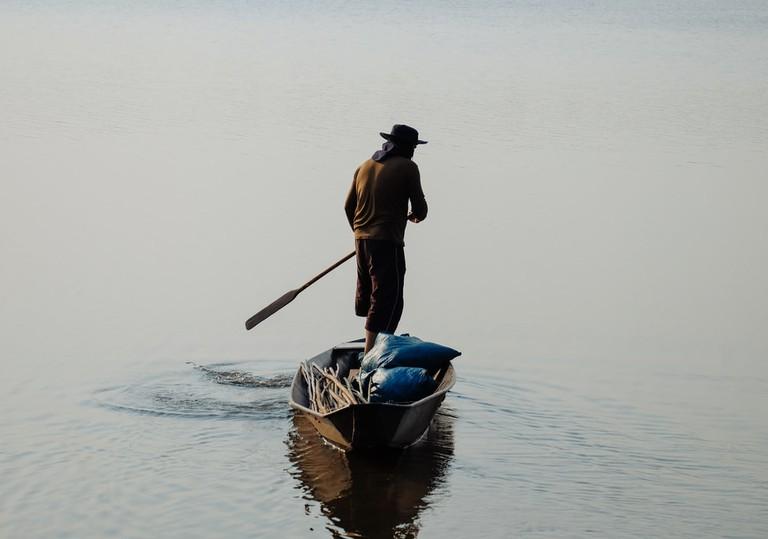 Kayaking in Uganda