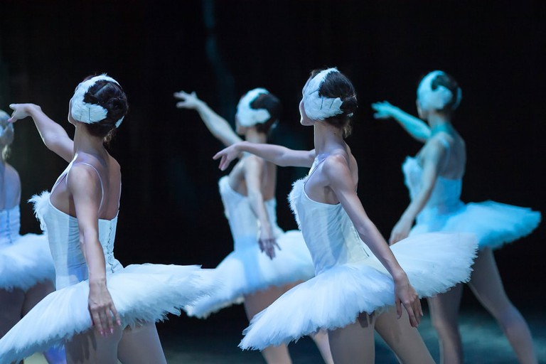 Ballet performance of Swan Lake
