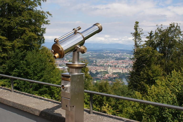 View over Bern from Gurten