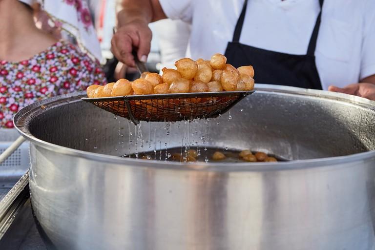 Loukoumades, traditional Cypriot pastry