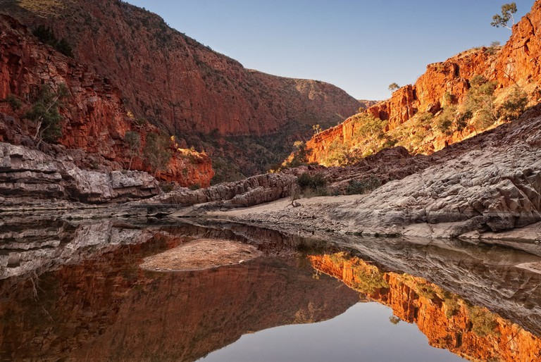 Ormiston Gorge in the West MacDonnell National Park, Australia