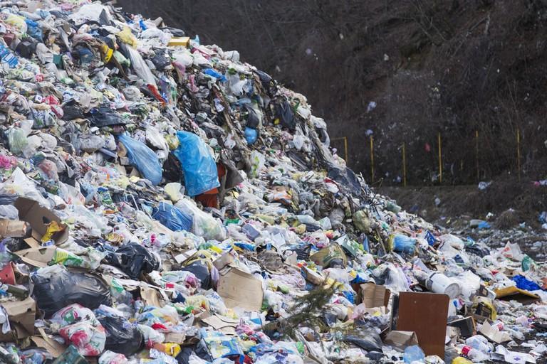 Plastic pollution Rio de Janeiro
