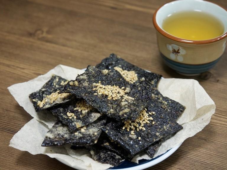 Gim Bugak, Korean food
