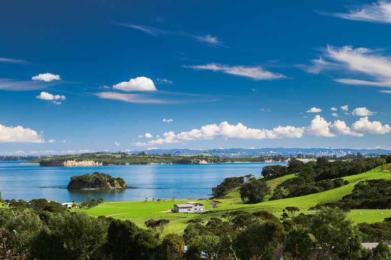 Church Bay, Hauraki Gulf, Waiheke Island, New Zealand