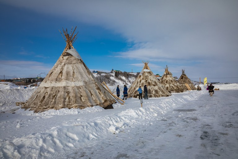 Nenets yurt