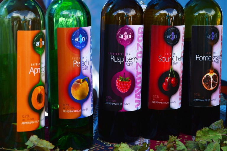 Armenian Areni fruit wines