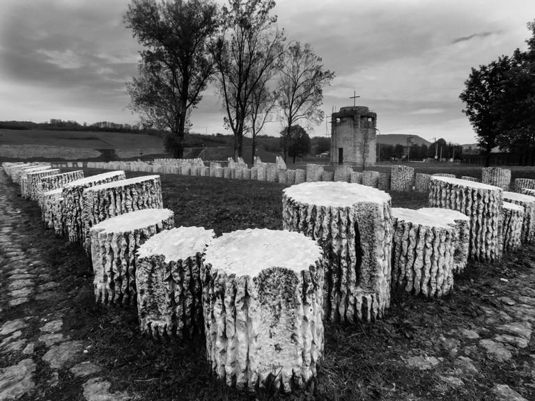 Cemetery of shooting citizens in the Second World War, Kraljevo, Serbia