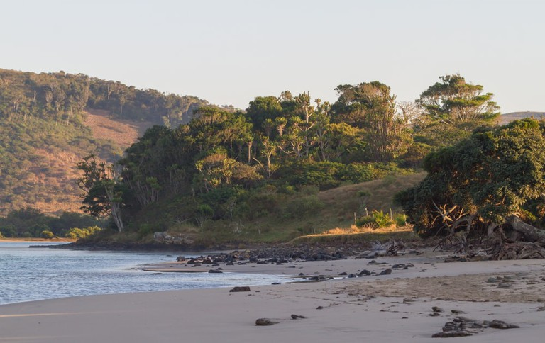 Lagoon at Mdumbi Beach