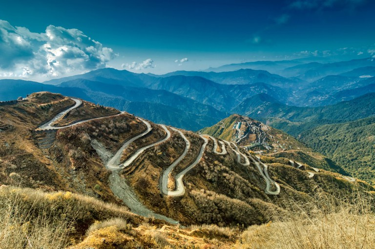 Old Silk Route, Silk trading route between China and India, Sikkim