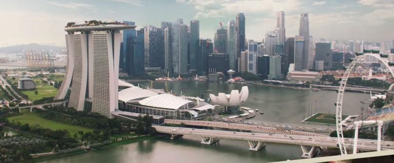Singapore Crazy Rich Asians Trailer Marina Bay
