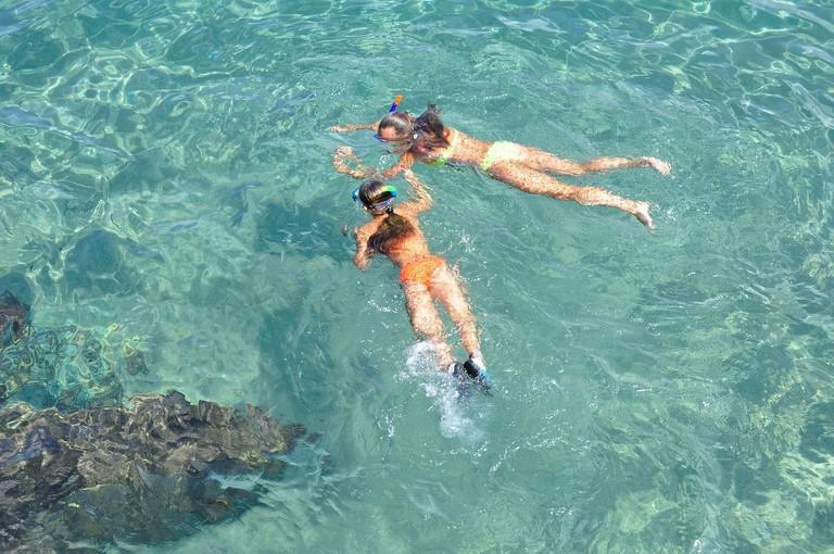 snorkelling, Costa Brava