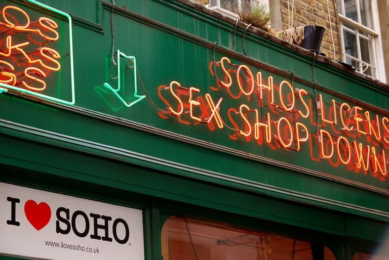 Soho sex shop