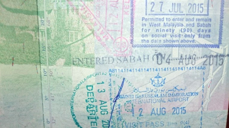 Tourists flying from Kuala Lumpur will get another stamp when entering East Malaysia