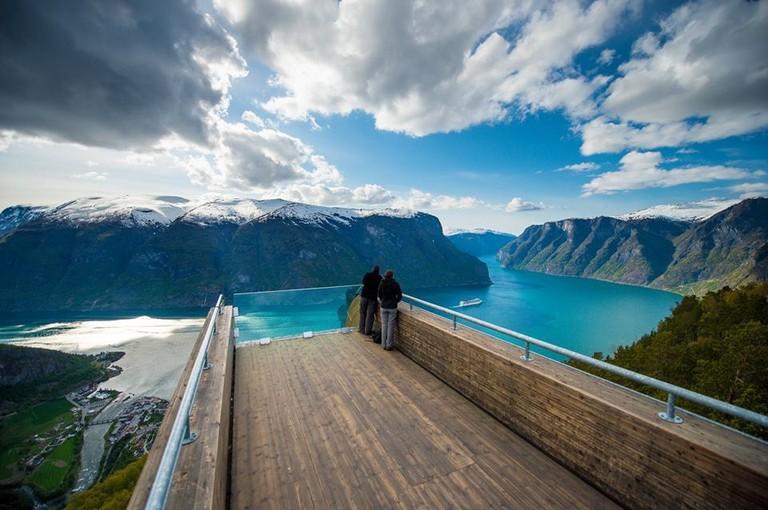Stegastein viewing platform, © Sverre Hjørnevik:Fjord Norway, Courtesy of Visit Sognefjord