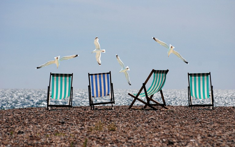 Bringing your own beach furniture is now an option