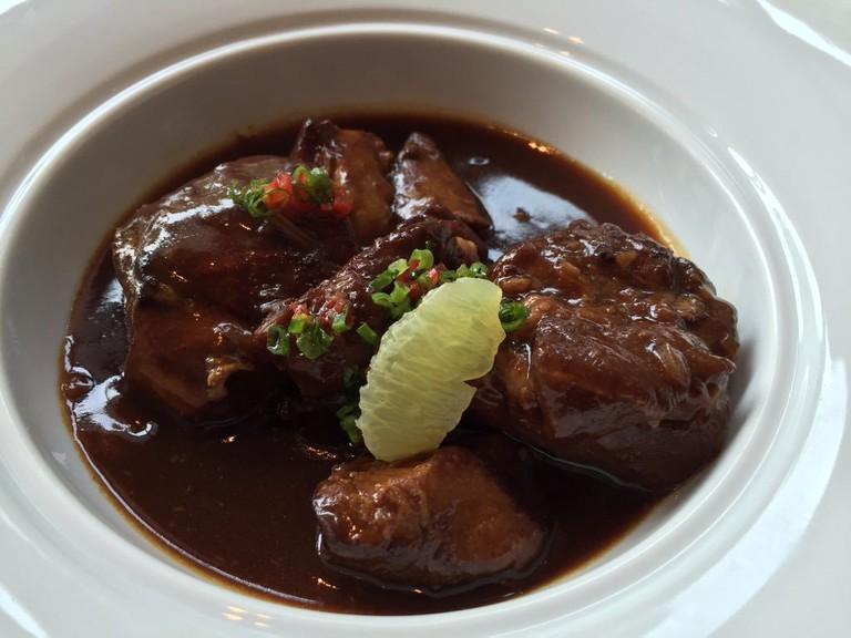 Tamarind pork stew
