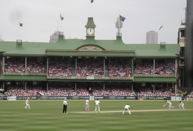 Test Cricket at the Sydney Cricket Ground © Tom Smith