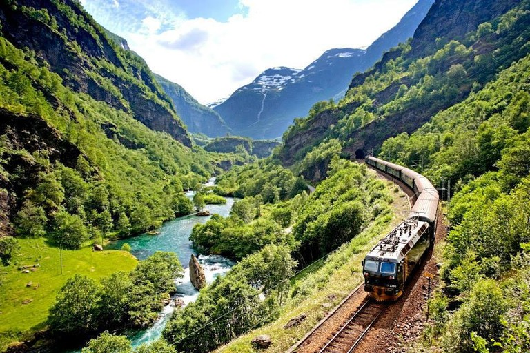 The iconic Flåm railway, Courtesy of Visit Flåm
